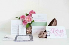 garden party wedding invitation