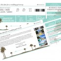 save the datet boarding pass