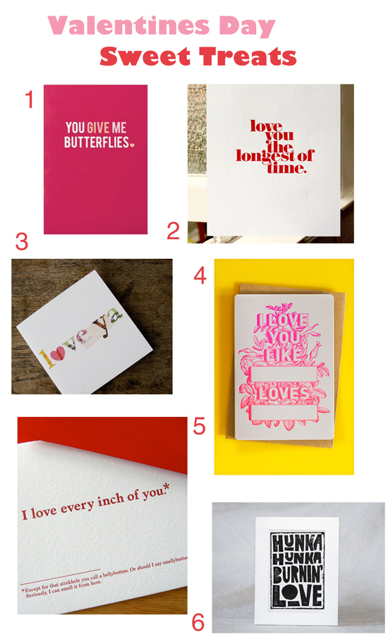 valentines day gift guide stationery Valentines Day Sweet Treats   Stationery