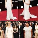 white oscar gowns 2012