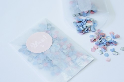 Akimbo Circa confetti and label 500x333 Pastel Confetti With Free Sticker Tutorial