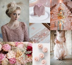 Fluffy Pink Wedding