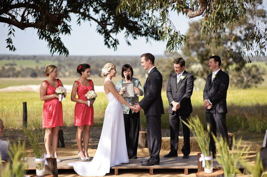 country australian wedding037 Zara and Andrews Quirky Country Wedding