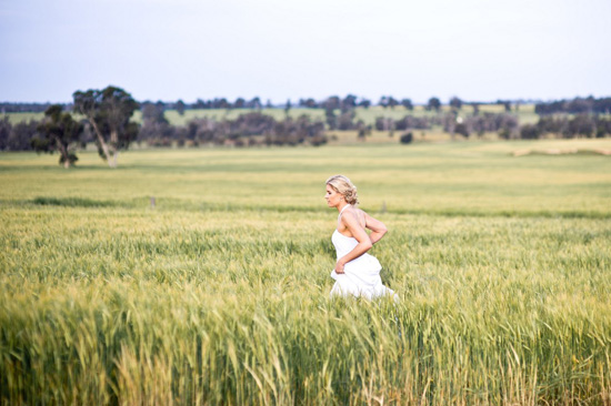 country australian wedding061 Zara and Andrews Quirky Country Wedding