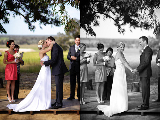 country australian wedding100 Zara and Andrews Quirky Country Wedding
