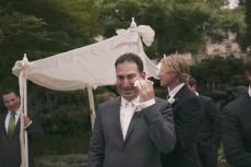 emotional groom