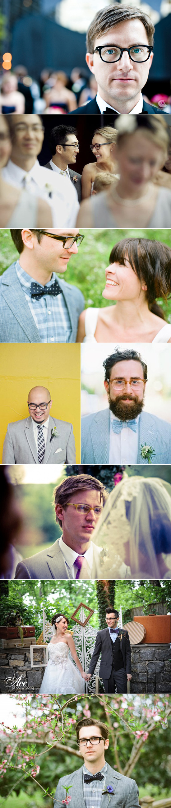 grooms wearing glasses Grooms Wearing Glasses