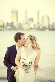 relaxed perth wedding