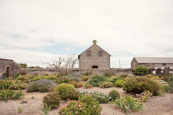 sandstone wedding barn
