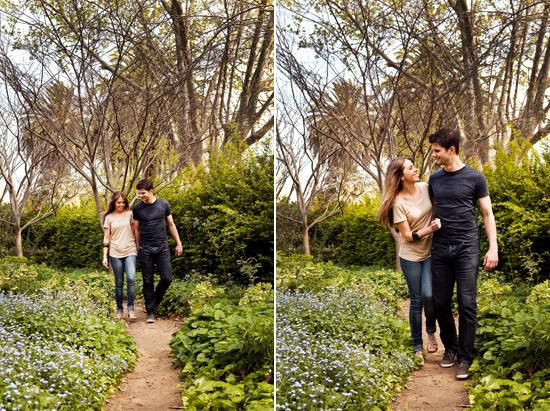 st kilda botanic gardens engagement002 Kye & Zoks Botanic Gardens Engagement Shoot