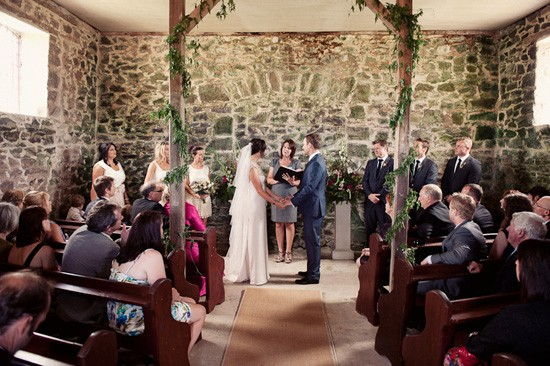 tasmanian barn wedding