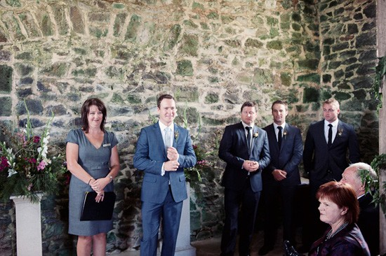 tasmanian wedding ceremony