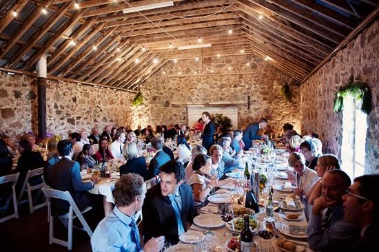 tasmanian wedding reception venue