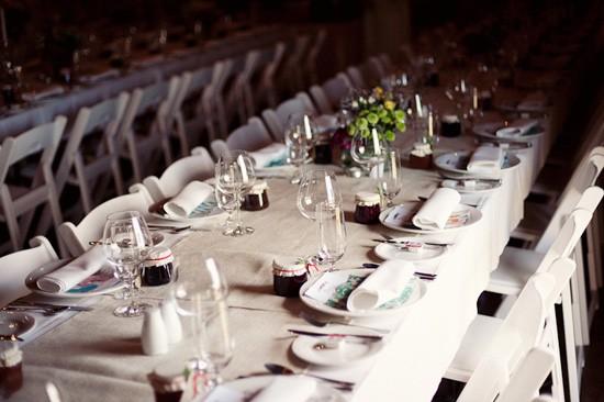 tasmanian wedding setting
