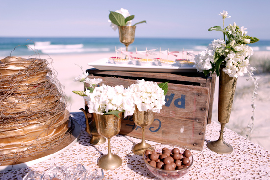 vintage beach wedding inspiration016 Vintage Beach Wedding Inspiration