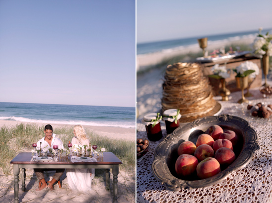 vintage beach wedding inspiration024 Vintage Beach Wedding Inspiration