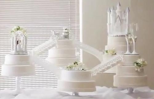 And Brett's Wedding Cake