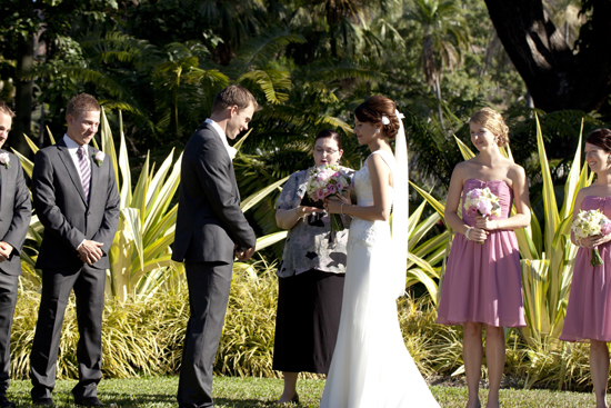 a a bent132 Classic Pink and White Townsville Wedding
