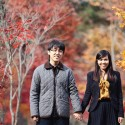 autumn leaves engagement001
