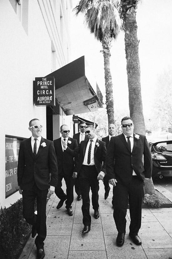 modern groom and groomsmen Groom Style Simon