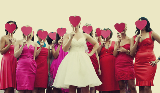 pink-red-bridesmaids-dresses1