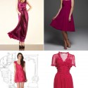 raspberry pink bridesmaids dresses