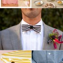 stripe wedding inspiration