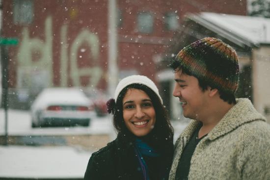 winter engagement photos002 Shefali & Michaels Winter Engagement Shoot