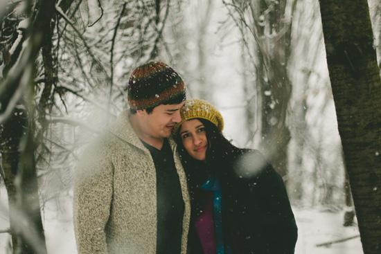 winter engagement photos013 Shefali & Michaels Winter Engagement Shoot