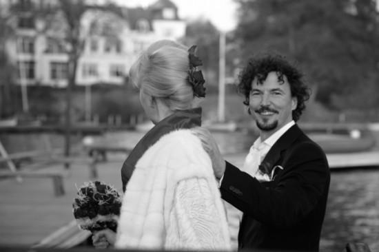 Groom 550x366 Red and White Hamburg Germany Wedding
