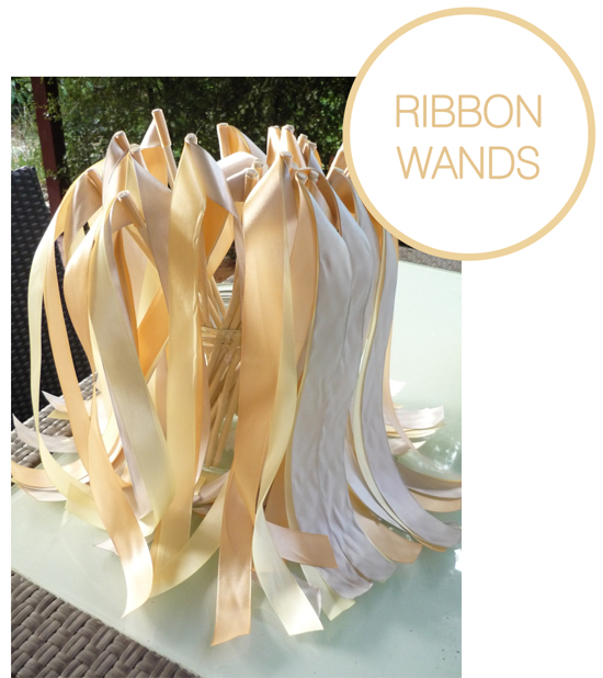 RIBBON WANDS TUTORIAL DIY Wedding Projects