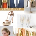 Glimmer Gold Inspiration board