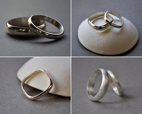 artisan wedding rings Handmade Wedding Rings From Epheriell