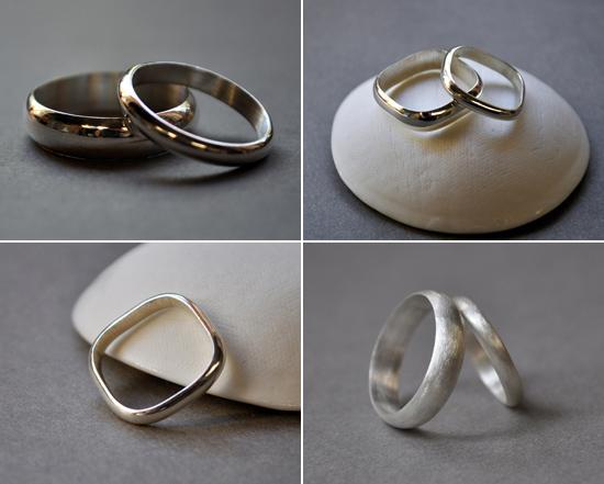 artisan wedding rings Handmade Wedding Rings From Epheriell
