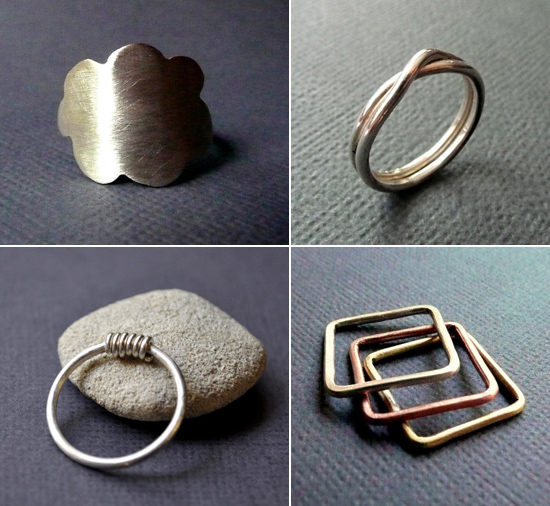 handmade rings Handmade Wedding Rings From Epheriell