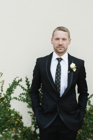Back Tie Style With Real Groom Simon