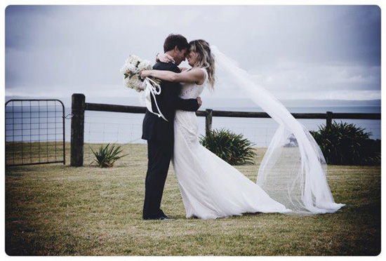 vintage wedding phillip island001 Simone and Rhys Vintage Wedding