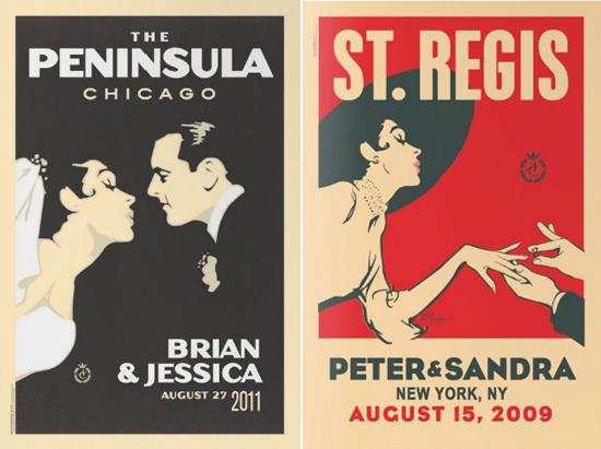 vintage wedding posters002 Vintage Wedding Posters