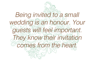 wisdom2 Small Weddings