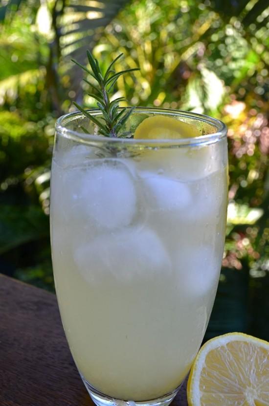 GinnFizz2 550x830 Cocktail Friday Rosemary Gin Fizz