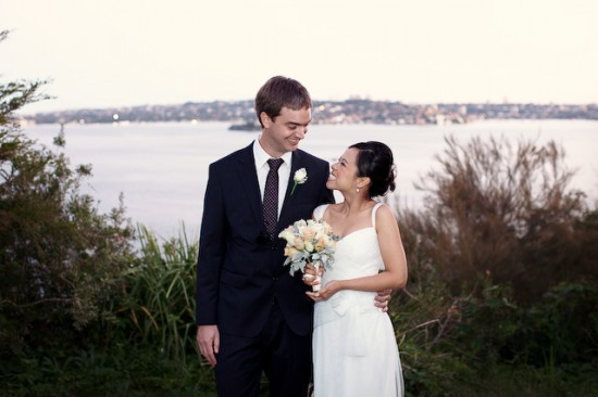 Richard Ivy 372 550x366 A Sydney Waterside Travel Wedding