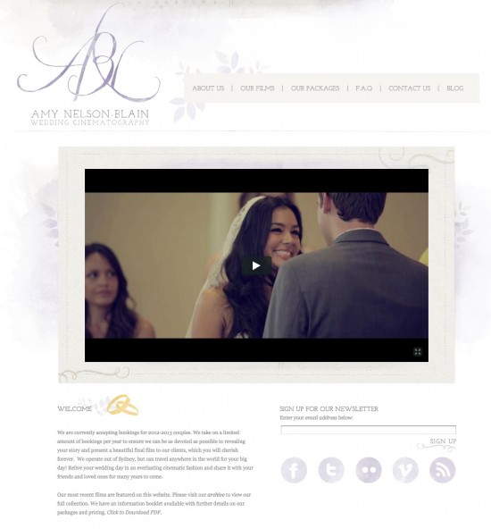 Sydney Wedding Cinematography By Amy Nelson Blain Wedding Films Wedding DVD Wedding Videos 1 550x592 Friday Roundup