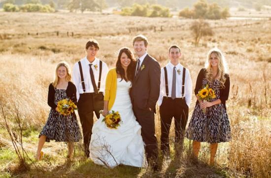 cardigan bride 550x361 Winter Wedding Warmth With Cardigans