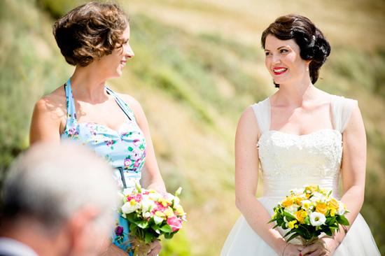 retro new zealand wedding007 Delwyn and Marcus Retro New Zealand Wedding