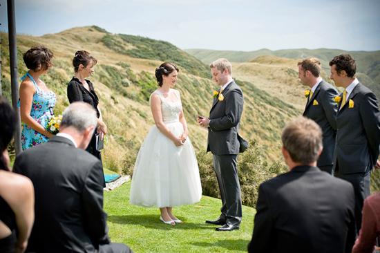 retro new zealand wedding008 Delwyn and Marcus Retro New Zealand Wedding