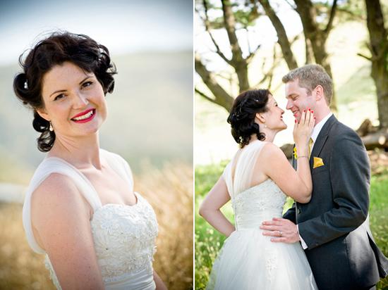 retro new zealand wedding014 Delwyn and Marcus Retro New Zealand Wedding