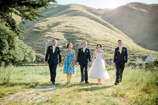 retro new zealand wedding021 Delwyn and Marcus Retro New Zealand Wedding