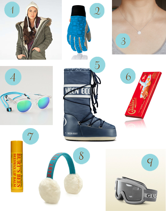 snow honeymoons1 Things To Pack: On The Slopes