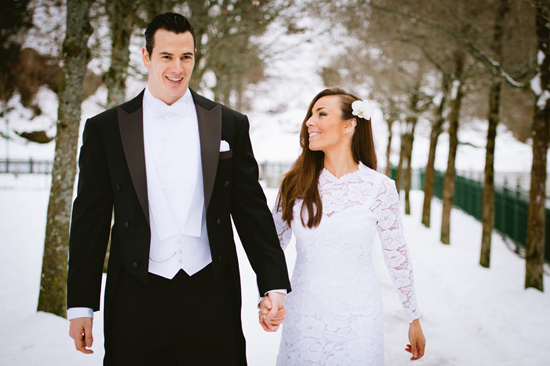 wedding in the snow Alex and Philippes Austrian Winter Wedding