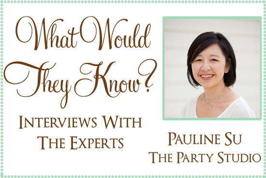 what would they know the party studio What Would They Know? Pauline Su Of The Party Studio